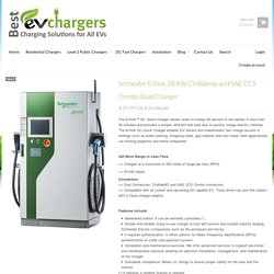 Schneider Electric Fast EV Charger -BestEVChargers