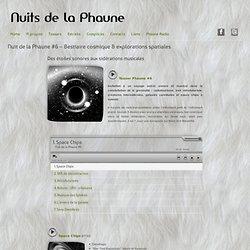 Nuit de la Phaune #6 – Bestiaire cosmique & explorations spatiales » Nuits de la phaune