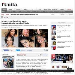 Donne come bestie da soma - l'Unità - 19 settembre 2011