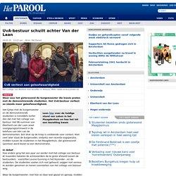 UvA-bestuur schuilt achter Van der Laan