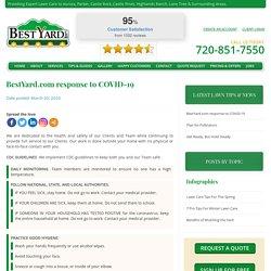 BestYard.com response to COVID-19 - BestYard.com