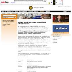 webarchive: UU 1okt2014 uitgestelde promotie Bloemers Medicatie op maat voor vrouwen met verminderd seksueel verlangen - Bètawetenschappen - Universiteit Utrecht