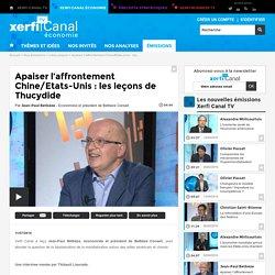 Jean-Paul Betbèze, Betbèze Conseil - Apaiser l'affrontement Chine/Etats-Unis : les leçons de Thucydide