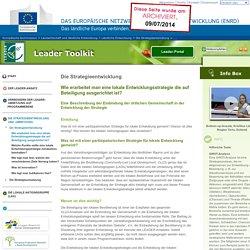 Wie erarbeitet man eine lokale Entwicklungsstrategie die auf Beteiligung ausgerichtet ist?