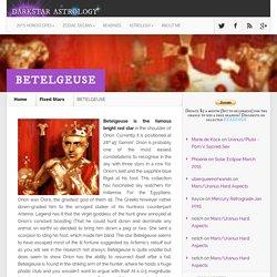 Betelgeuse ~ Champagne Supernova, Brut & The Divine Masculine