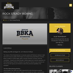 RockSteady boxing and gym