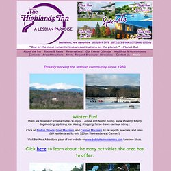 Lesbian Resort in Bethlehem, New Hampshire: The Highlands Inn: Vacation Paradise for Women