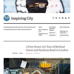 A Free Street Art Tour of Bethnal Green and Hackney Road in London - Inspirin...