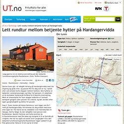 Lett rundtur mellom betjente hytter på Hardangervidda - Tur