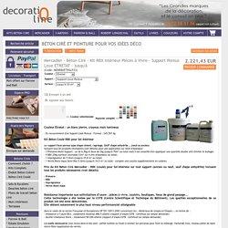 Sol en Béton Ciré autolissant - Kit complet béton ciré pour sol coulé RBX