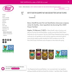 Is Your Nut and Seed Butter Healthy and Non-GMO Verified