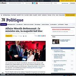 Affaire Woerth-Bettencourt : le ministre nie, la majorité fait b