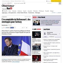 L'ex-comptable de Bettencourt : des enveloppes pour Sarkozy