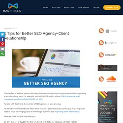 5 Tips for Better SEO Agency-Client Relationship