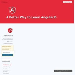 A Better Way to Learn AngularJS - Thinkster