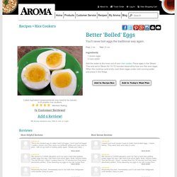 Better 'Boiled' Eggs Recipe