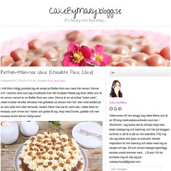 Better-than-sex cake (Chocolate Poke Cake) - CakeByMary.blogg.se