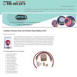 A Better Choice than the Polaris Dual Battery Kit! - :