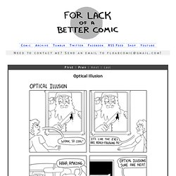 For Lack of a Better Comic :: Couldn't Give a Shit