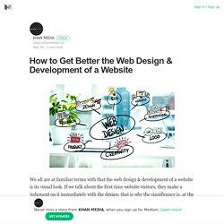 How to Get Better the Web Design & Development of a Website