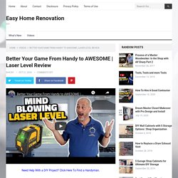 Better Your Game From Handy to AWESOME