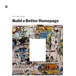 Build a Better Homepage – Eric Karjaluoto