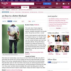 30 Days to a Better Husband - Love + Sex on Shine