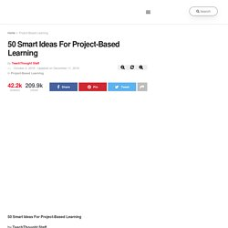 A Better List Of Ideas For Project-Based Learning