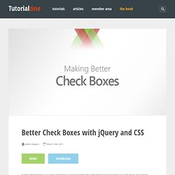 Better Check Boxes with jQuery and CSS