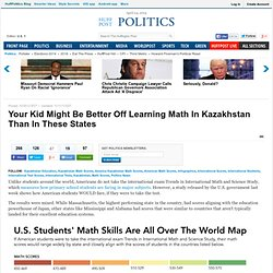 Your Kid Might Be Better Off Learning Math In Kazakhstan Than In These States