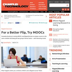 For a Better Flip, Try MOOCs