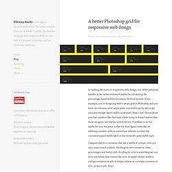 A better Photoshop grid for responsive web design