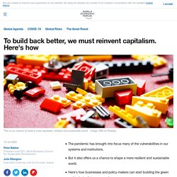 To build back better, we will have to reinvent capitalism