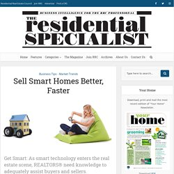Sell Smart Homes Better, Faster