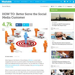 HOW TO: Better Serve the Social Media Customer