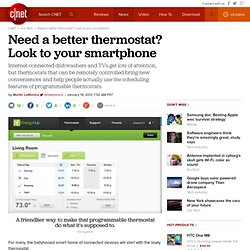 Need a better thermostat? Look to your smart phone | Cutting Edge