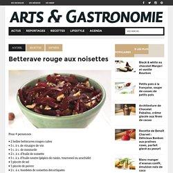 Betterave rouge aux noisettes