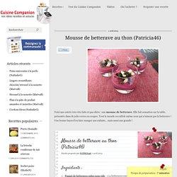 Mousse de betterave au thon (Patricia46)