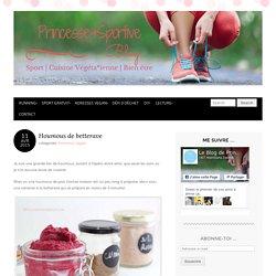 Houmous de betterave - Princesse et Sportive