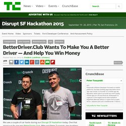 BetterDriver.Club Wants To Make You A Better Driver — And Help You Win Money