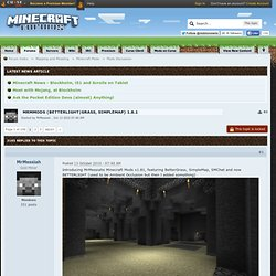 MrMMods v1.7 (BetterLight/Grass,etc) Beta 1.1_x FIX - Minecraft Forums