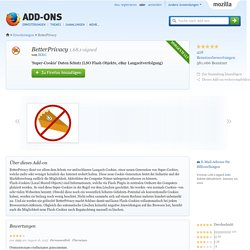 BetterPrivacy :: Add-ons für Firefox