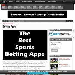 Betting Apps - Ligue❶ Betting Tips & Previews
