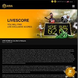 Live Bet in Malaysia - H3asia
