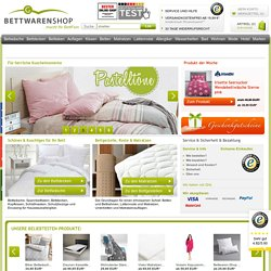 Bettwäsche, Bettdecken, Matratzen, Bettlaken, Zubehör für Wasserbetten