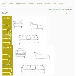 betula - nontoxic organic couch