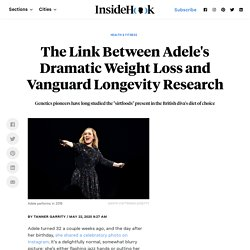The Link Between Adele's Weight Loss Diet and Longevity Research