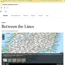 Between the Lines - National Geographic Society