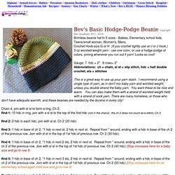 Bev's Basic Crocheted Hat