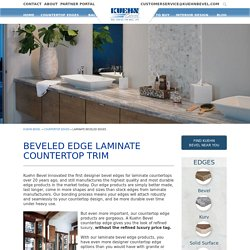 High Quality Kitchen Countertop Edges in New Jersey